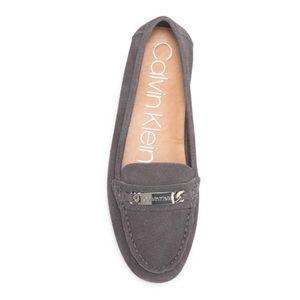 Calvin Klein Lunasi Suede Loafer